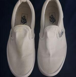 Girls Vans Slip on shoes